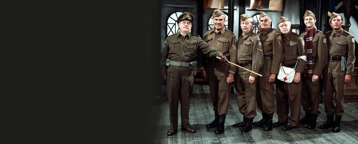 """""""Dad's Army"""" ~ 9th-14th May"""