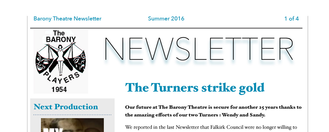 Newsletter - Summer 2016