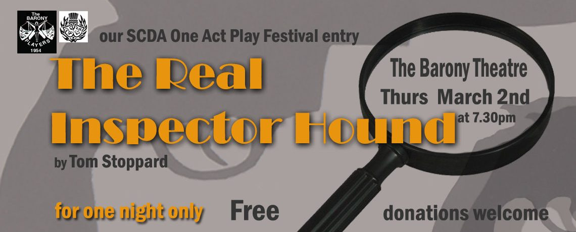 Open dress rehearsal – The Real Inspector Hound by Tom Stoppard