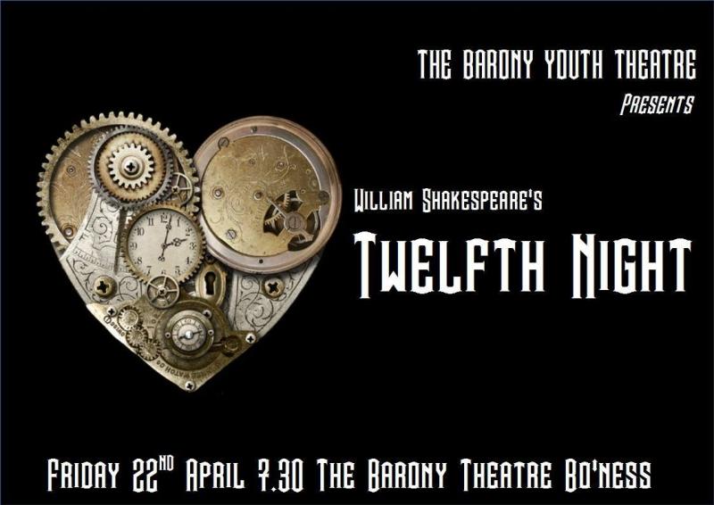 Twelfth night poster