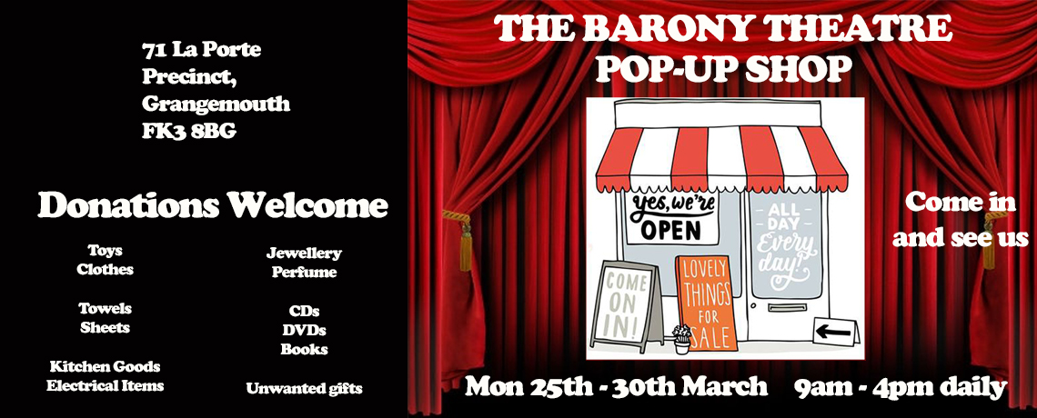 Barony Pop-Up Charity Shop 2019