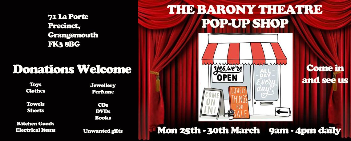 Barony Pop-Up Charity Shop 2019